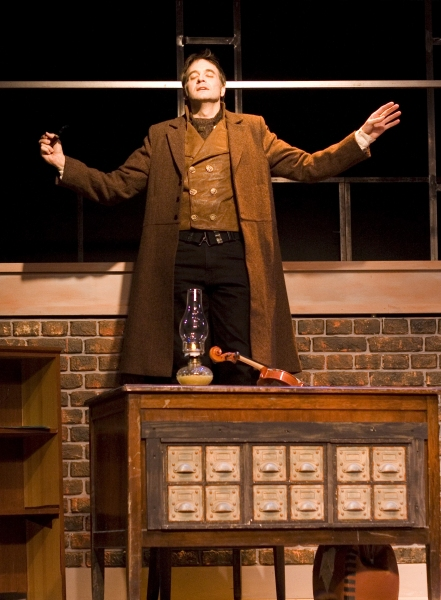 Chip Simmons as Sherlock Holmes
