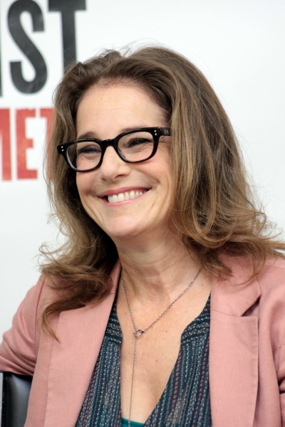 Debra Winger at THE ANARCHIST's Patti LuPone and Debra Winger Meet the Press!