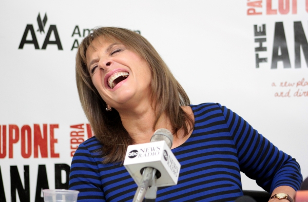 Photo Coverage: THE ANARCHIST's Patti LuPone and Debra Winger Meet the Press!