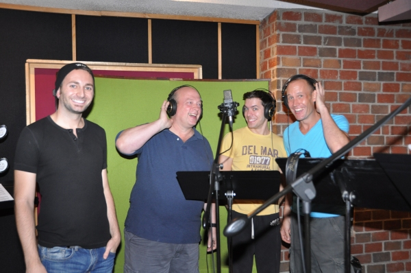 Nick Williams, Gregg Kirsopp, Brandon Leffler and Shawn Pennington Photo