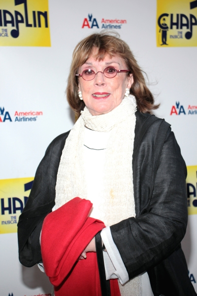 Phyllis Newman at CHAPLIN Opening Night Red Carpet - Jonas x2, Hilty, Ripley & More!