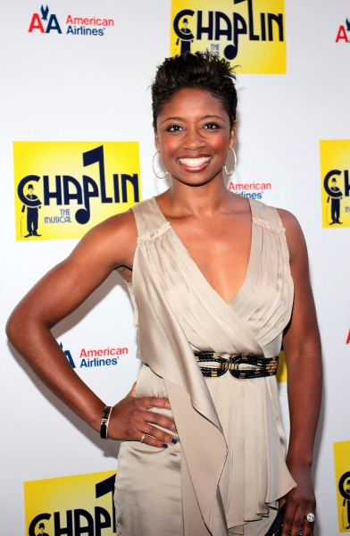 Montego Glover at CHAPLIN Opening Night Red Carpet - Jonas x2, Hilty, Ripley & More!