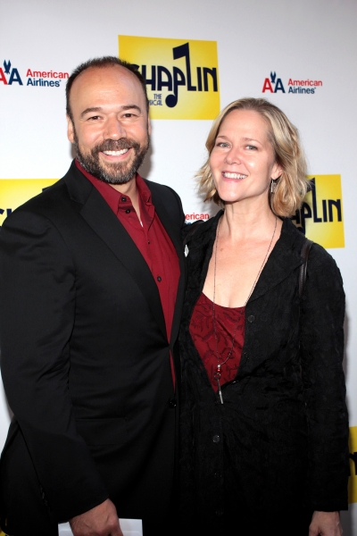 Danny Burstein, Rebecca Luker at CHAPLIN Opening Night Red Carpet - Jonas x2, Hilty, Ripley & More!