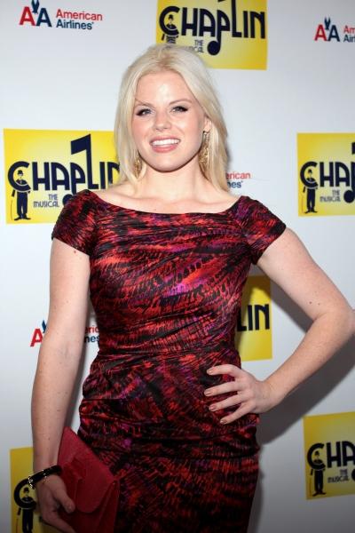 Megan Hilty at CHAPLIN Opening Night Red Carpet - Jonas x2, Hilty, Ripley & More!