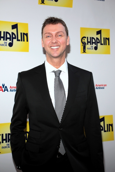 Warren Carlyle at CHAPLIN Opening Night Red Carpet - Jonas x2, Hilty, Ripley & More!