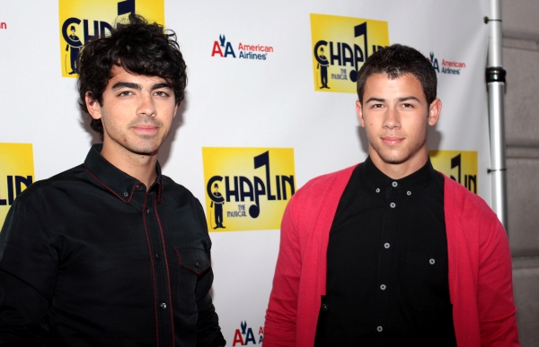 Joe Jonas, Nick Jonas at CHAPLIN Opening Night Red Carpet - Jonas x2, Hilty, Ripley & More!
