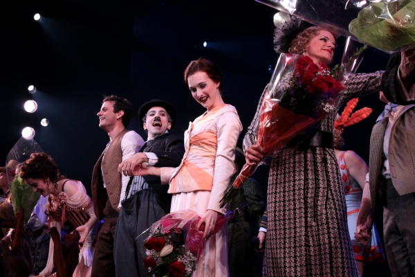 Photo Coverage: CHAPLIN Opening Night Curtain Call on Broadway!