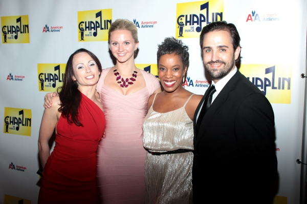 Sarah O'Gleby, Leslie Donna Flesner,  at CHAPLIN Opening Night Party - Check Out the Cast!