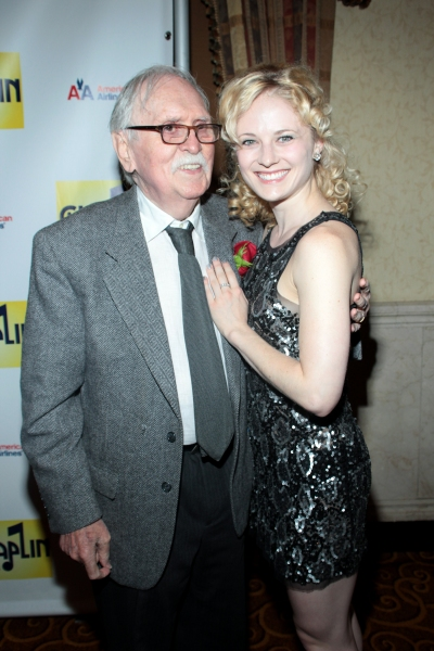Thomas Meehan, Hayley Podschun at CHAPLIN Opening Night Party - Check Out the Cast!