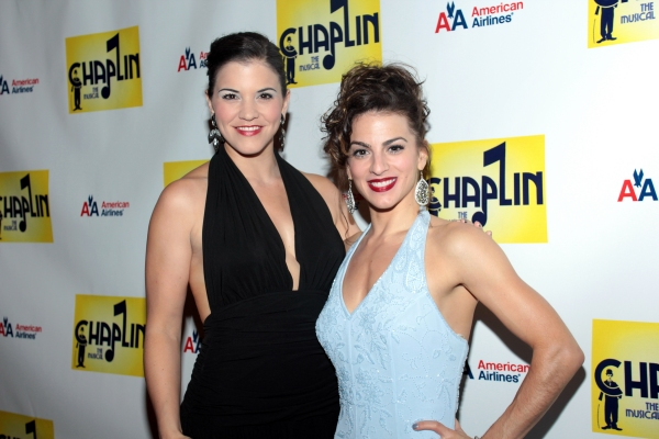 Sara Edwards, Renee Marino at CHAPLIN Opening Night Party - Check Out the Cast!