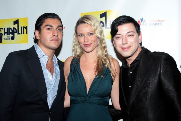 Oliver James, Kiera Chaplin, Malan Breton at CHAPLIN Opening Night Party - Check Out the Cast!