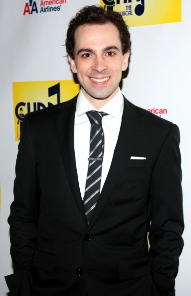 Rob McClure at CHAPLIN Opening Night Party - Check Out the Cast!