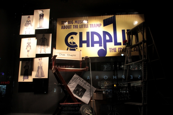 Photo Coverage: CHAPLIN's Macy's Window Display!