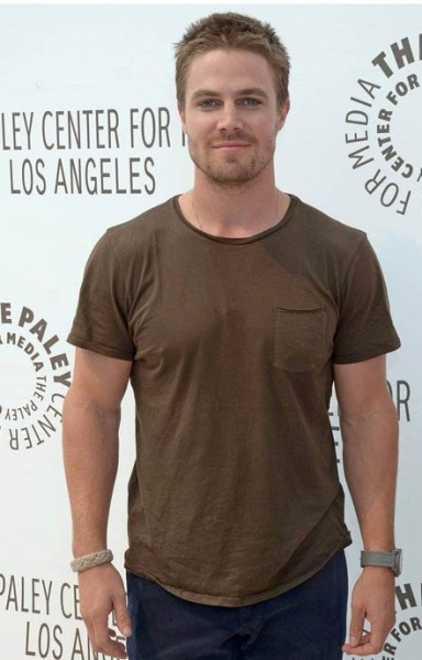 Stephen Amell at Berlanti, Amell at Paley 