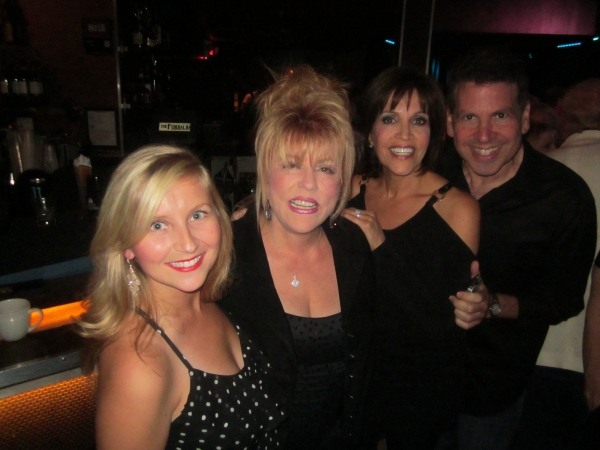 Lindsay Ridgeway, Rita McKenzie, Joan Ryan, Michael Orland  at BWW Reviews: Kritzerland's Second Birthday Show a Smash at Sterling's