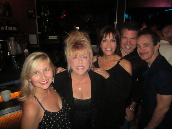 Lindsay Ridgeway, Rita McKenzie, Joan Ryan, Michael Orland, Jason Graae at BWW Reviews: Kritzerland's Second Birthday Show a Smash at Sterling's