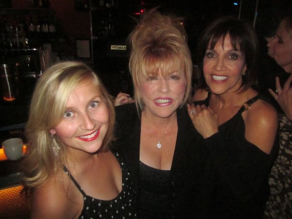 Lindsay Ridgeway, Rita McKenzie, Joan Ryan at BWW Reviews: Kritzerland's Second Birthday Show a Smash at Sterling's