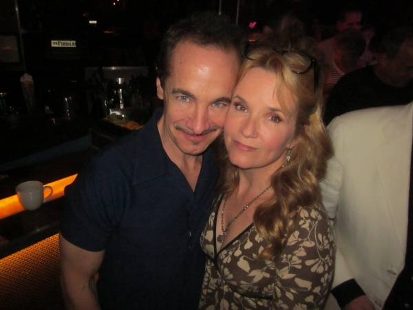 Jason Graae and Lea Thompson