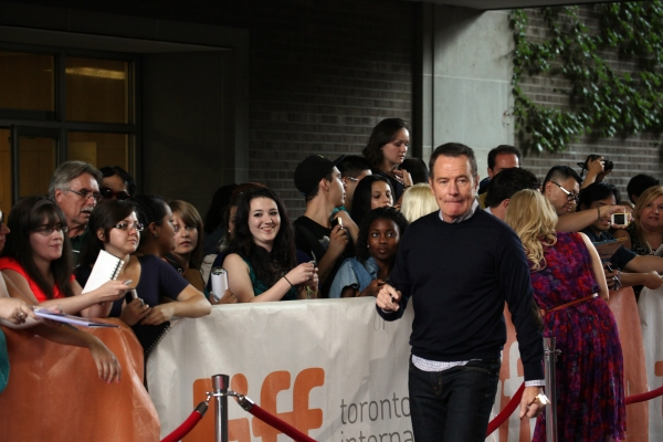 Bryan Cranston at Christina Hendricks, Woody Harrelson, Adam Driver Take Part in AMERICAN BEAUTY Reading at TIFF