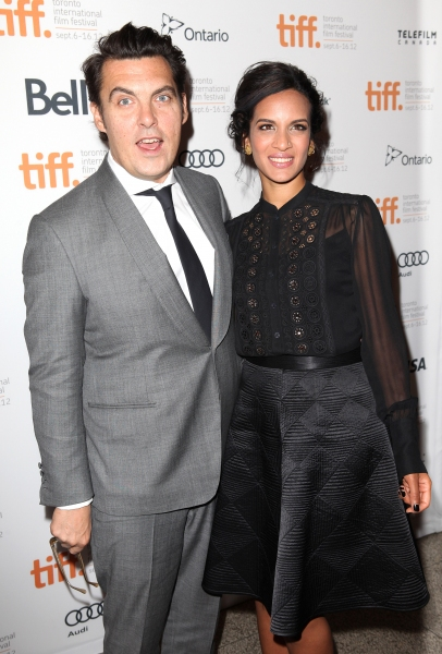 Director Joe Wright & Anoushka Shankar at Jude Law, Keira Knightley at ANNA KARENINA's TIFF Premiere