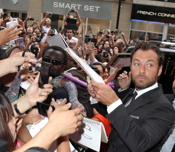 Photo Coverage: Jude Law, Keira Knightley at ANNA KARENINA's TIFF Premiere
