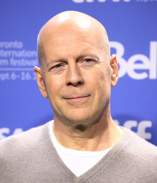 Photo Coverage: Bruce Willis, Joseph Gordon-Levitt at LOOPER's TIFF Photo Call
