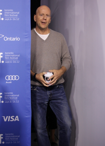 Photo Coverage: Bruce Willis, Joseph Gordon-Levitt at LOOPER's TIFF Photo Call