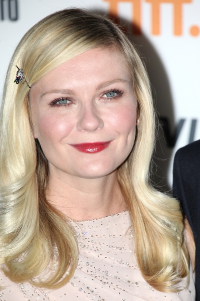 Kirsten Dunst  at Kristen Stewart, Kirsten Dunst on the Red Carpet for ON THE ROAD at TIFF