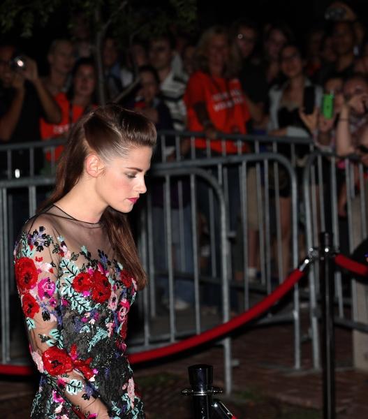 Kristen Stewart at Kristen Stewart, Kirsten Dunst on the Red Carpet for ON THE ROAD at TIFF