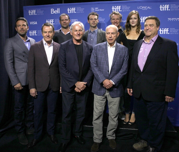Ben Affleck with the cast at Ben Affleck, Victor Garber and More at ARGO Premiere at TIFF