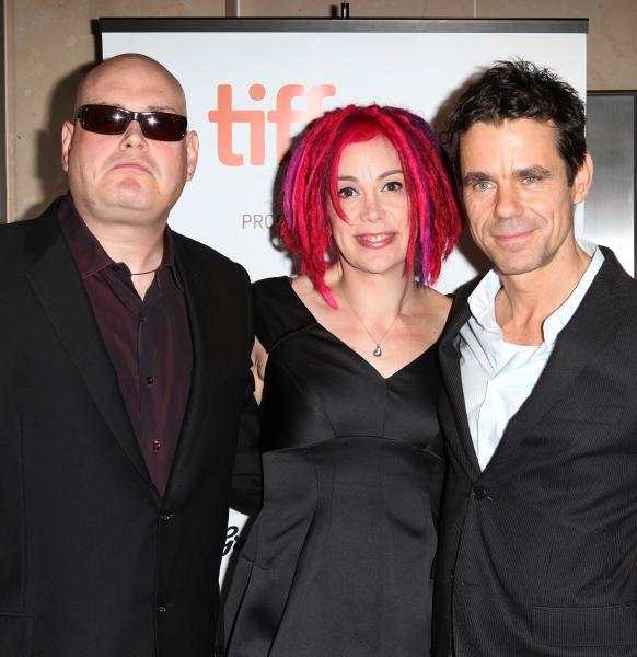 Andy Wachowski, Lana Wachowski, & Tom Tykwer  Photo