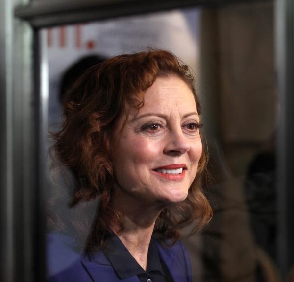 Susan Sarandon at Tom Hanks, Halle Berry on Red Carpet for CLOUD ATLAS at TIFF