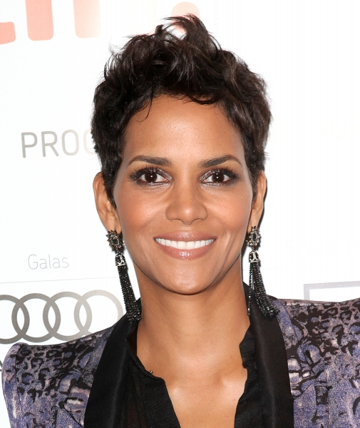 Halle Berry at Tom Hanks, Halle Berry on Red Carpet for CLOUD ATLAS at TIFF