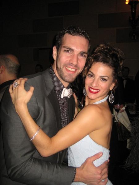 Timothy Hughes and Renee Marino