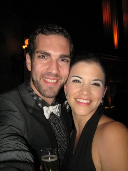 Timothy Hughes and Sara Edwards