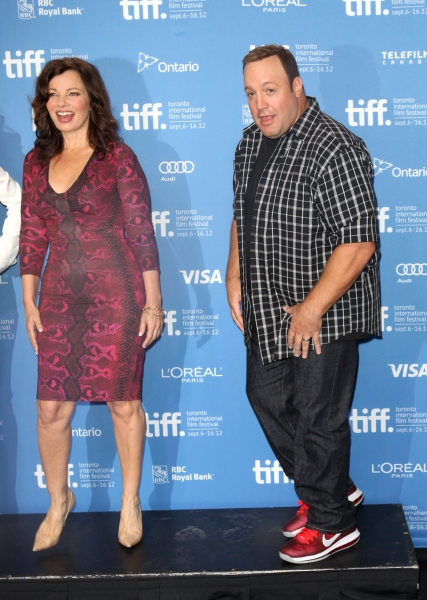 Fran Drescher & Kevin James  at The Cast of HOTEL TRANSYLVANIA at TIFF - Fran Drescher, Adam Sandler, Andy Samberg, Selena Gomez & More!