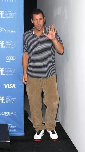Adam Sandler  at The Cast of HOTEL TRANSYLVANIA at TIFF - Fran Drescher, Adam Sandler, Andy Samberg, Selena Gomez & More!