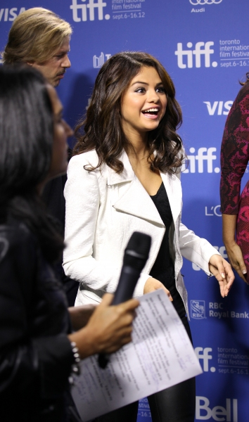 Selena Gomez at The Cast of HOTEL TRANSYLVANIA at TIFF - Fran Drescher, Adam Sandler, Andy Samberg, Selena Gomez & More!