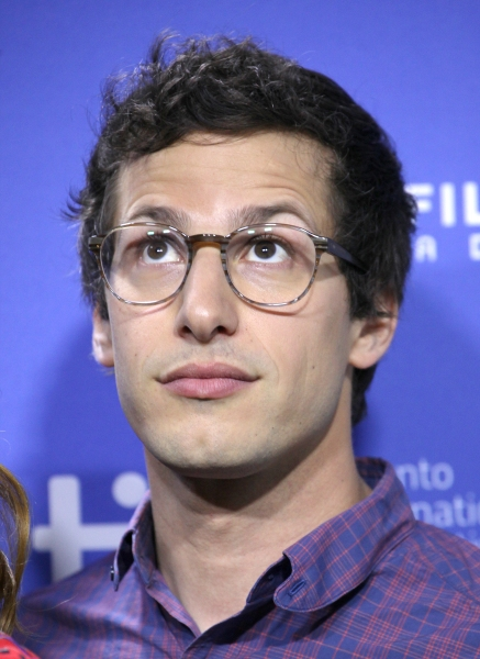 Andy Samberg at The Cast of HOTEL TRANSYLVANIA at TIFF - Fran Drescher, Adam Sandler, Andy Samberg, Selena Gomez & More!