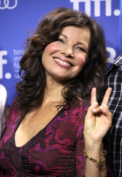 Fran Drescher at The Cast of HOTEL TRANSYLVANIA at TIFF - Fran Drescher, Adam Sandler, Andy Samberg, Selena Gomez & More!