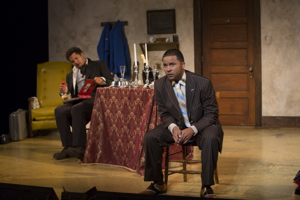 Photo Flash: First Look at TOPDOG/UNDERDOG at Two River, Directed by Playwright Suzan-Lori Parks!