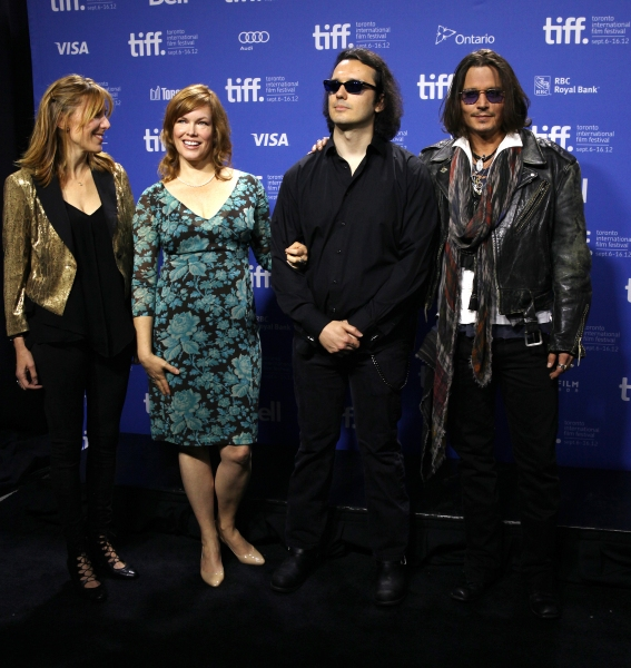 Amy Berg, Lorri Davis, Damien Echols & Johnny Depp