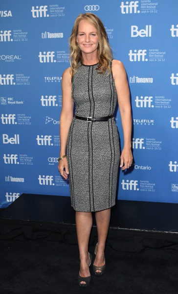Helen Hunt at Helen Hunt, William H. Macy and John Hawkes at THE SESSIONS Photo Call at TIFF!