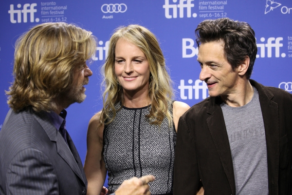 Helen Hunt, William H. Macy & John Hawkes at Helen Hunt, William H. Macy and John Hawkes at THE SESSIONS Photo Call at TIFF!