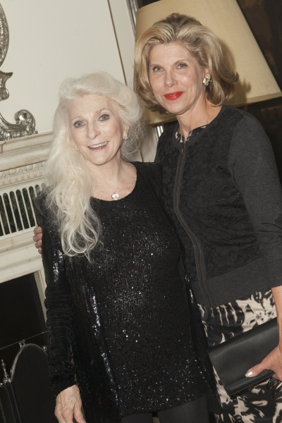 3 at Laura Osnes, Woody Harrelson, and More Visit Judy Collins at Cafe Carlyle