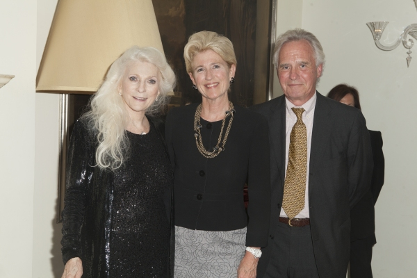 Photo Coverage: Laura Osnes, Woody Harrelson, and More Visit Judy Collins at Cafe Carlyle