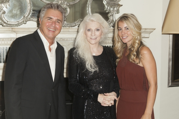 Steve Tyrell, Judy Collins and Morgan James at Laura Osnes, Woody Harrelson, and More Visit Judy Collins at Cafe Carlyle