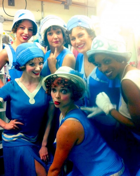 BWW Blog:  Stephanie Martignetti of Broadway's NICE WORK IF YOU CAN GET IT - Weekend Fun!