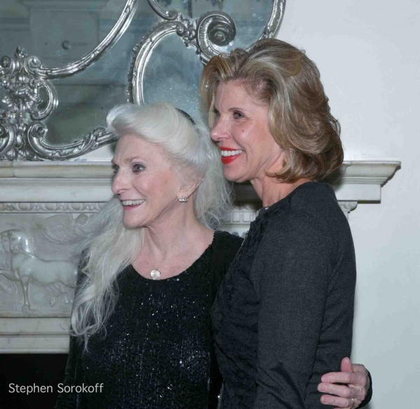 Judy Collins & Christine Baranski at Inside Judy Collins' Season Opener at Cafe' Carlyle