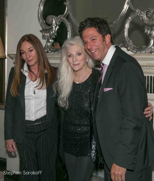 Jessica Molasky, Judy Collins, John Pizzarelli at Inside Judy Collins' Season Opener at Cafe' Carlyle